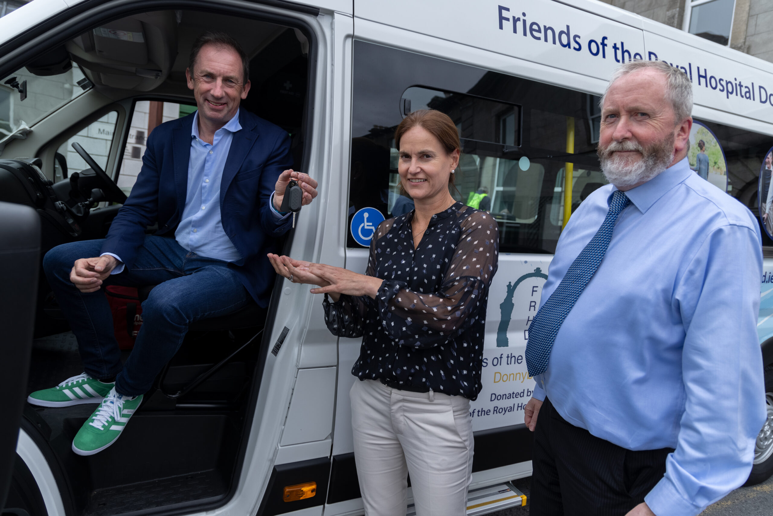 New Bus Funded by The Friends of RHD
